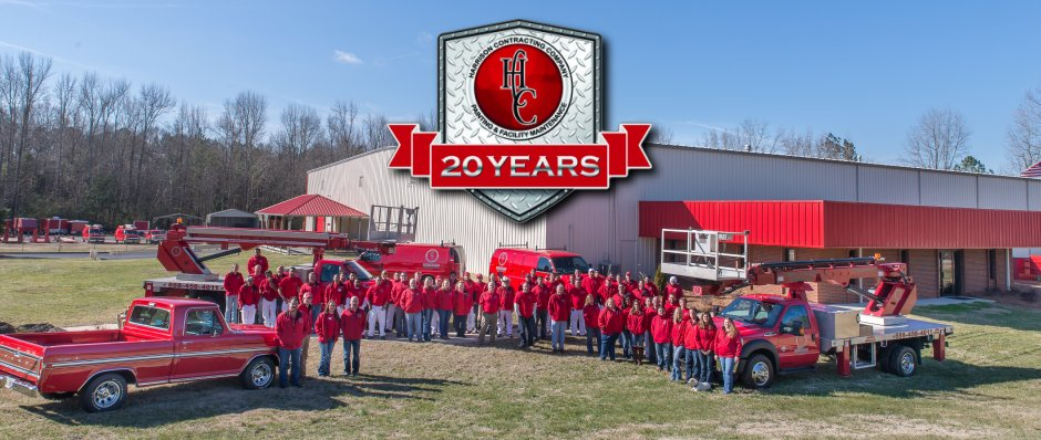 Harrison COntracting Company 20 Year Anniversary